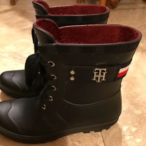 a3d0a16f Tommy Hilfiger Shoes - Tommy Hilfiger Toniee Rain Boots